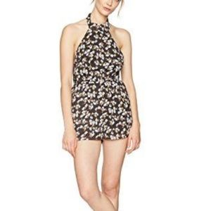 Lucca couture high neck tie romper.  NWT